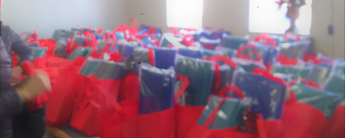Gift Bags Brought to Mens